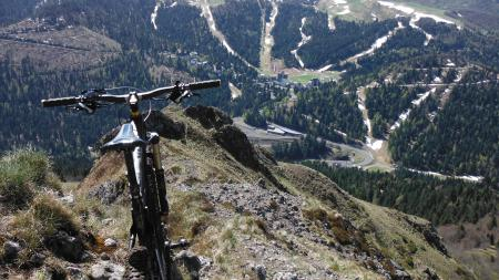 Cantal vtt le lioran bec de l 39 aigle cantal vtt jc guide caldera mes exp riences routes - Office tourisme le lioran ...